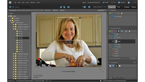 Tagging with People Recognition: Photoshop Elements 9 Essential Training