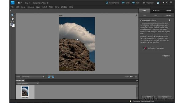 Guided Edit basics: Photoshop Elements 9 Essential Training