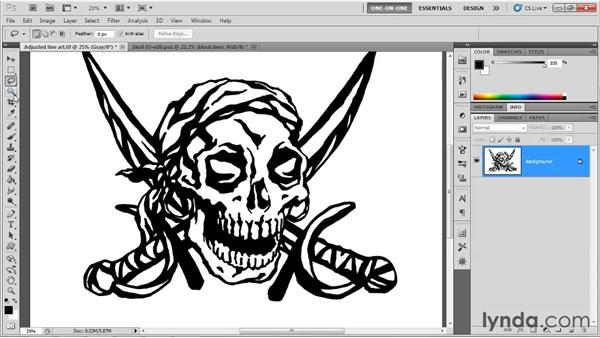 Adding contrast and color: Illustrator CS5 One-on-One: Advanced