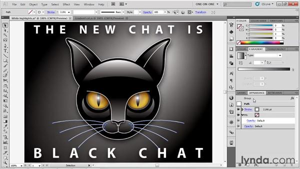 Drop shadows and dynamic effects: Illustrator CS5 One-on-One: Advanced