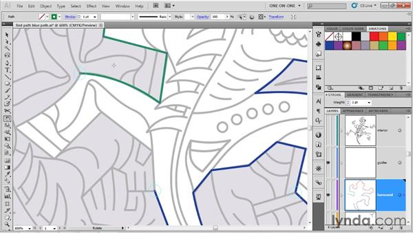 The final flawed subpaths: Illustrator CS5 One-on-One: Advanced