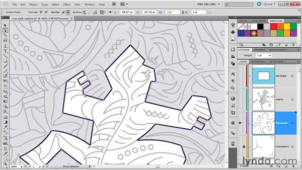 Making a symmetrical modification: Illustrator CS5 One-on-One: Advanced