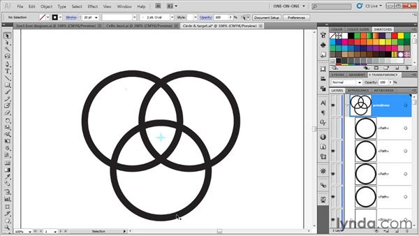 Building a classic Celtic knot: Illustrator CS5 One-on-One: Advanced