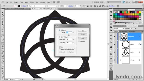 Constructing the base objects: Illustrator CS5 One-on-One: Advanced