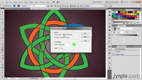 Creating knots inside knots: Illustrator CS5 One-on-One: Advanced