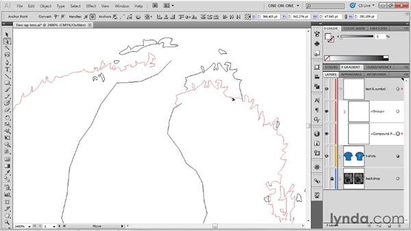 Customizing a letterform to make a logo: Illustrator CS5 One-on-One: Advanced