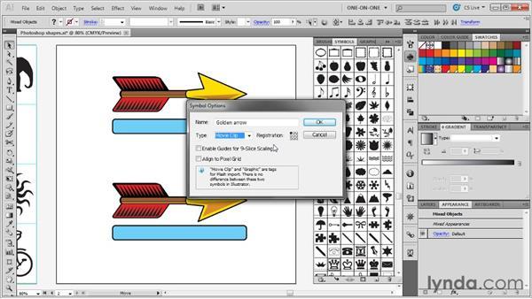 Creating new symbols: Illustrator CS5 One-on-One: Advanced