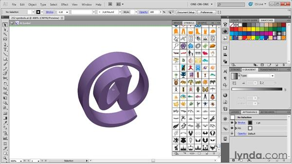 Previewing and acquiring symbols: Illustrator CS5 One-on-One: Advanced