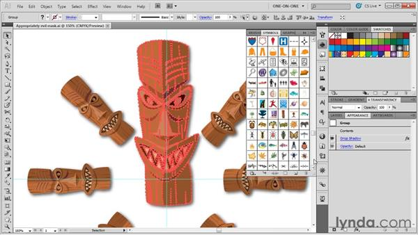 Updating an existing symbol definition: Illustrator CS5 One-on-One: Advanced