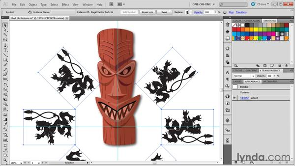 "Applying a basic ""local"" color adjustment: Illustrator CS5 One-on-One: Advanced"