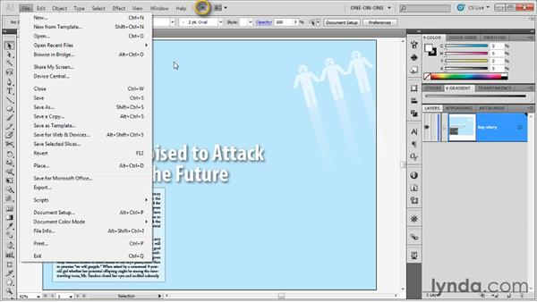 Two ways to place a pixel-based image: Illustrator CS5 One-on-One: Advanced