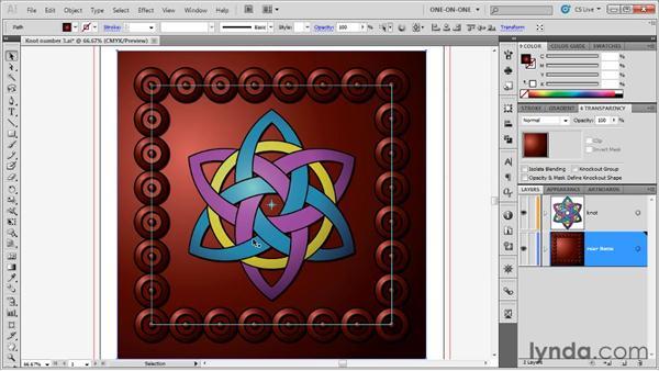 Restoring cropped border elements: Illustrator CS5 One-on-One: Advanced