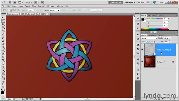Working with Photoshop Smart Objects: Illustrator CS5 One-on-One: Advanced