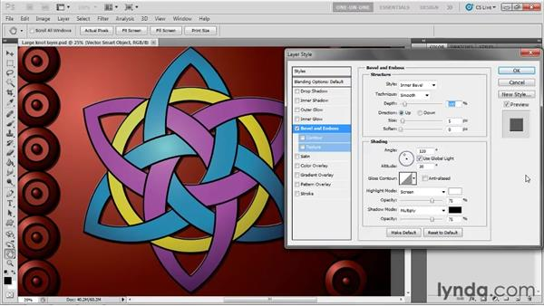 Adding a pixel-based layer effect: Illustrator CS5 One-on-One: Advanced
