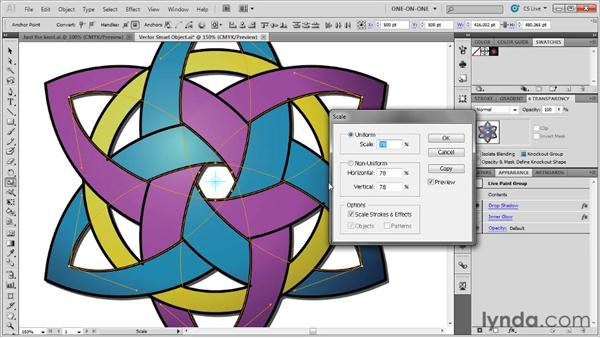 Editing a Vector Smart Object in Illustrator: Illustrator CS5 One-on-One: Advanced