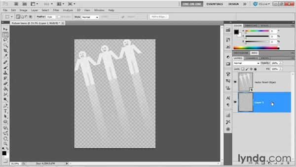 Creating and placing a transparent image: Illustrator CS5 One-on-One: Advanced