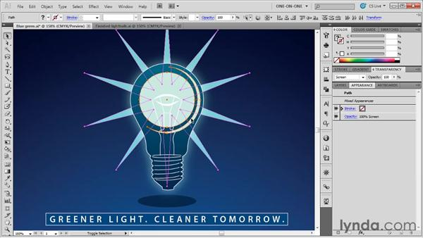 Real-world blending modes: Illustrator CS5 One-on-One: Advanced