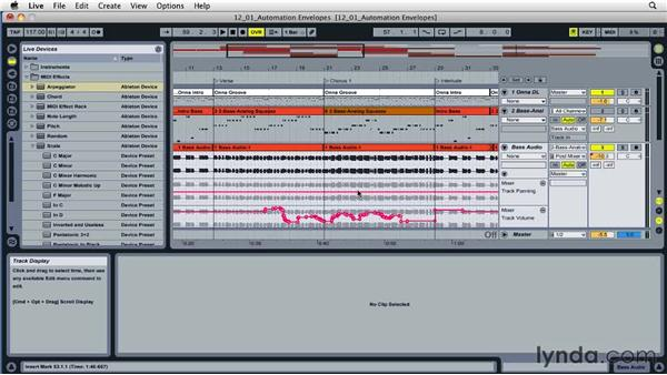 Building automation patterns: Ableton Live 8 Essential Training