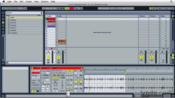 Understanding the basics of looping: Ableton Live 8 Essential Training