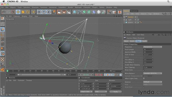 Understanding how 3D software works: CINEMA 4D R12 Essential Training