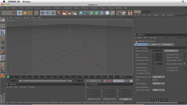 Navigating the viewports: CINEMA 4D R12 Essential Training