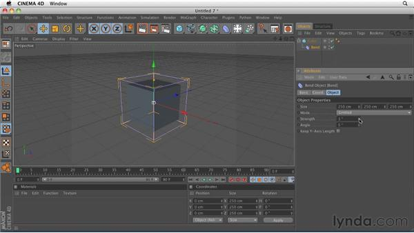 Comparing object types: CINEMA 4D R12 Essential Training