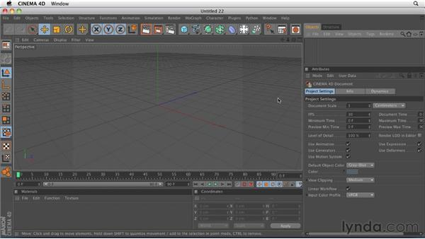 Extruding and organizing paths from Adobe Illustrator: CINEMA 4D R12 Essential Training