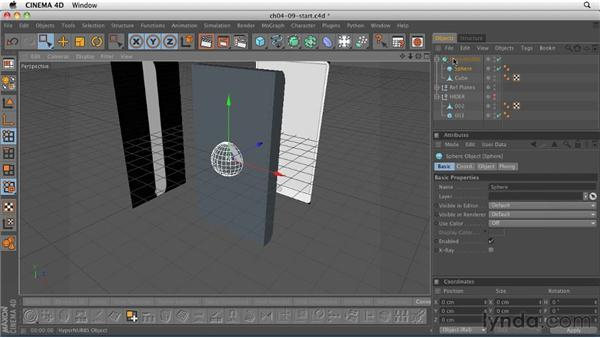 Organic modeling: Adding the finishing touches: CINEMA 4D R12 Essential Training