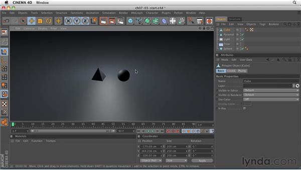 Understanding light types: CINEMA 4D R12 Essential Training