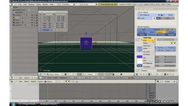 Explaining parallax in camera movement: CINEMA 4D R12 Essential Training