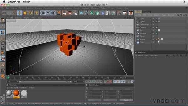 Setting up multi-pass rendering for still images: CINEMA 4D R12 Essential Training