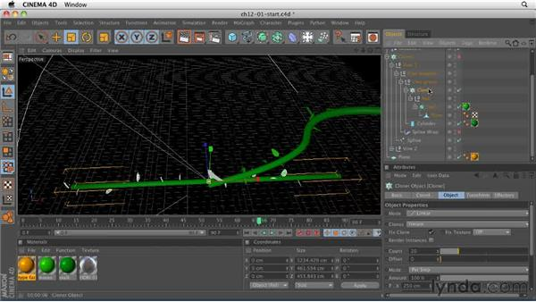 Explaining MoGraph: CINEMA 4D R12 Essential Training