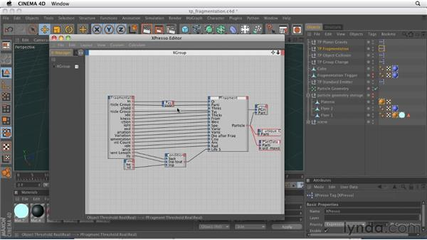 Explaining basic particles and thinking particles: CINEMA 4D R12 Essential Training