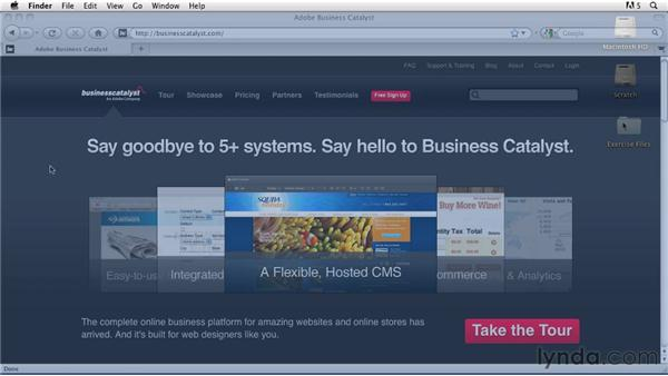Using the exercise files: Getting Started with Dreamweaver CS5 and Business Catalyst