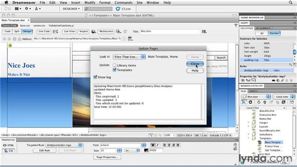Creating Business Catalyst templates: Getting Started with Dreamweaver CS5 and Business Catalyst