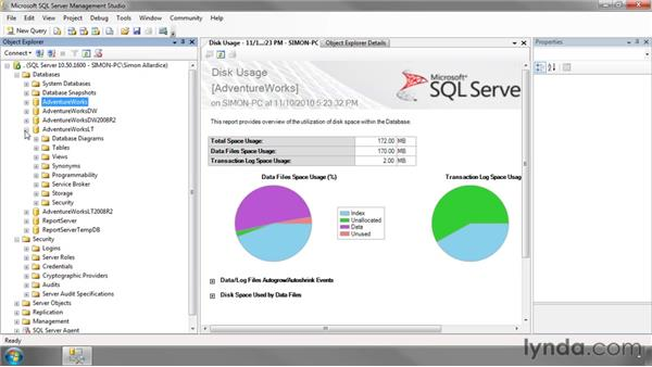 Introduction to SQL Server Management Studio: SQL Server 2008 Essential Training