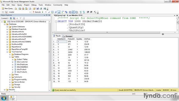 Creating default values: SQL Server 2008 Essential Training