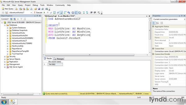 : SQL Server 2008 Essential Training