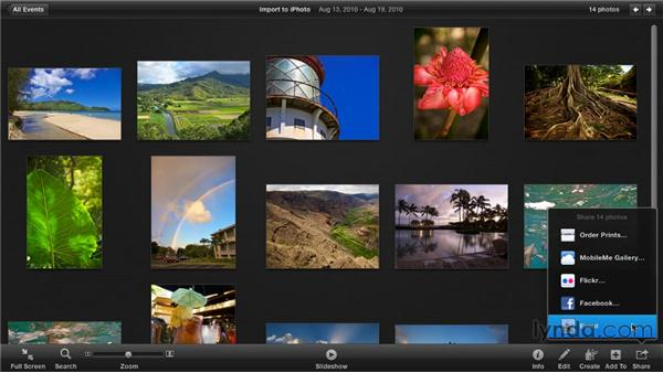 What's new in iPhoto '11?: iPhoto '11 Essential Training