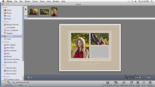 Printing photos: iPhoto '11 Essential Training