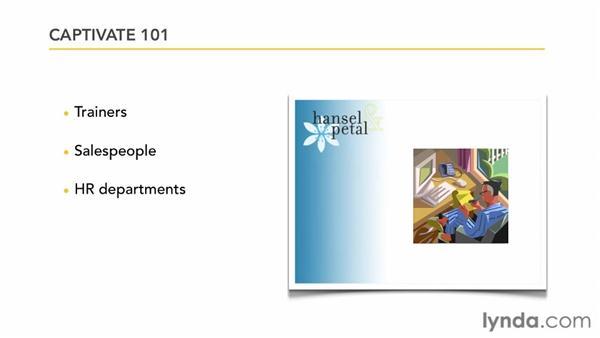 Captivate 101: Captivate 5 Essential Training