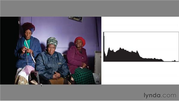 Real-world histograms : Foundations of Photography: Exposure