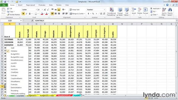 Copying and moving sheets within a workbook: Excel 2010: Managing Multiple Worksheets and Workbooks