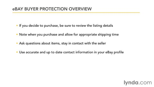 Understanding eBay Buyer Protection: eBay for Buyers Essential Training
