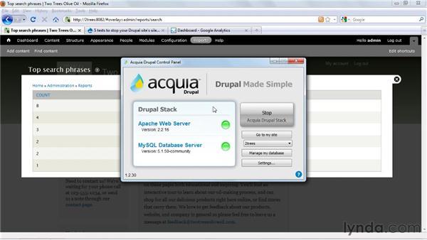 Monitoring performance: Drupal 7 Essential Training