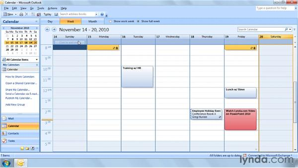 Three ways to view your tasks: Outlook 2007 Power Shortcuts