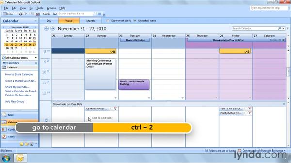 Three ways to change task due dates: Outlook 2007 Power Shortcuts