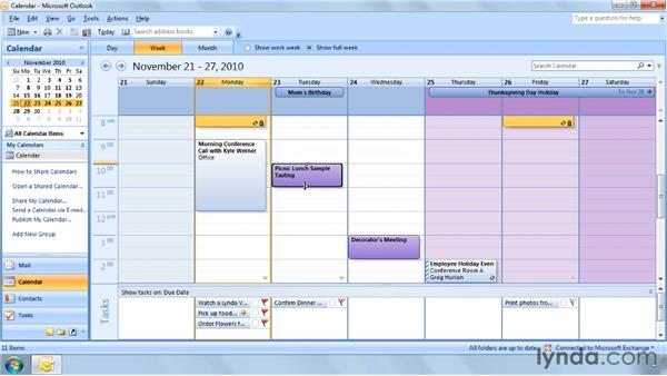 Four ways to reschedule an appointment: Outlook 2007 Power Shortcuts
