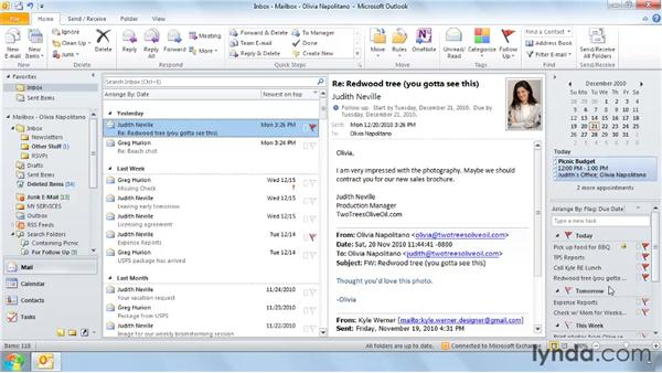 Five ways to create a task: Outlook 2010 Power Shortcuts