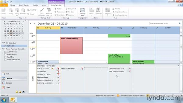 Three ways to change task due dates: Outlook 2010 Power Shortcuts